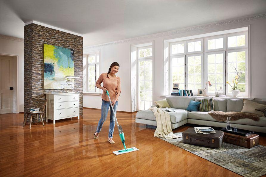baumarkt egger reinigungsger te bodenreiniger leifheit pflege system starter set care. Black Bedroom Furniture Sets. Home Design Ideas
